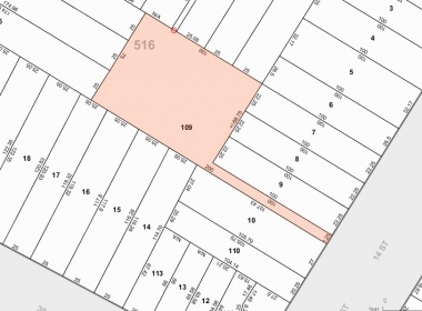 3056 14th St - Tax Map