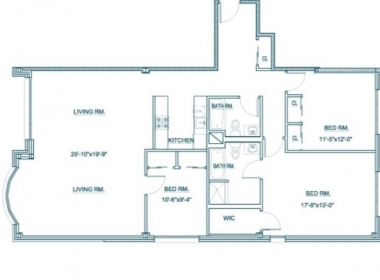 Floor Plan - 3540 30th St #1H